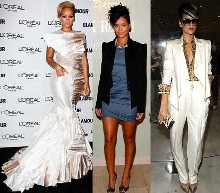 Rihannas Evening Red Carpet Looks
