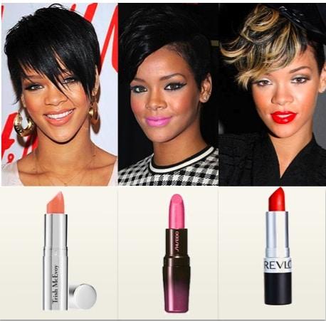 Rihanna's Makeup