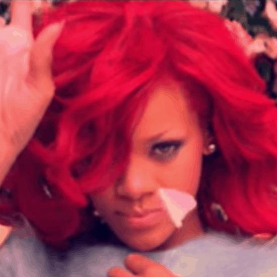 Screenshot of Rihanna's