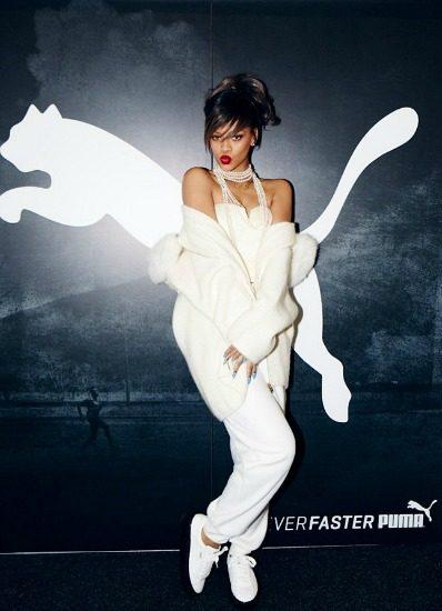 Rihanna + Puma