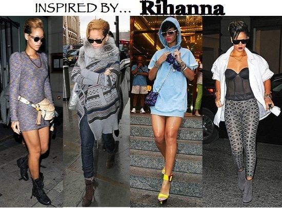 How to dress like Rihanna