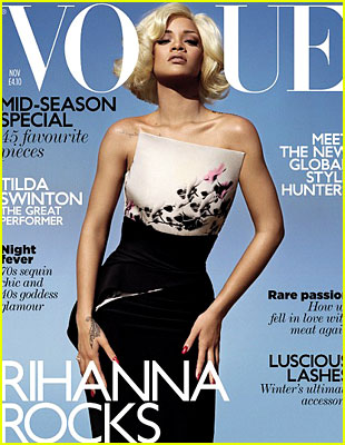 Rihanna's British Vogue Cover