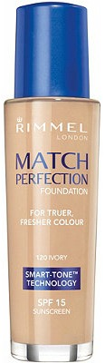Rimmel's match perfect foundation