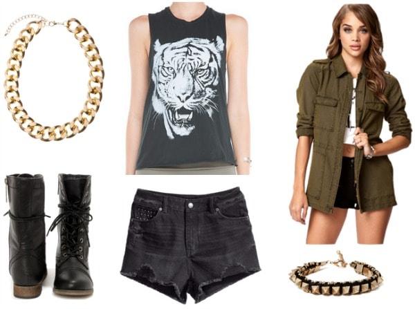 Roar outfit 1