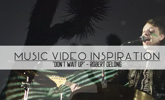 robert delong music video header