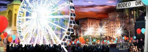 Rodeo Drive Ferris Wheel