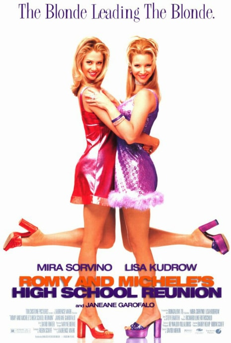 Romy and MIchele movie poster