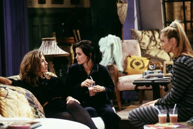 Friends TV show - Monica, Phoebe, and Rachel