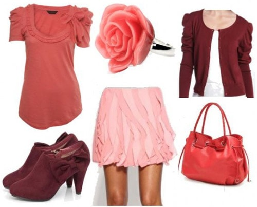 Casual outfit with a pink skirt inspired by Disney's Rosetta