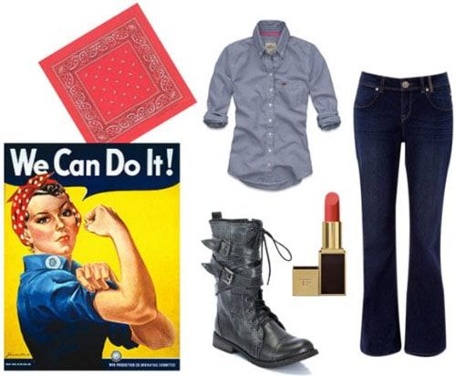 Rosie the Riviter Costume