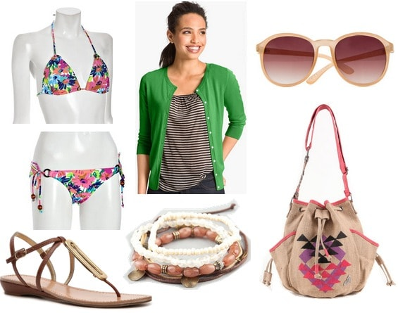 RRL swimsuit edition look inspired by milly resort 2012
