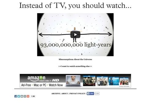 Unplug the tv