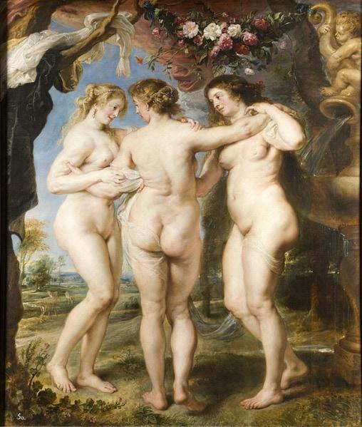 Rubens Three Graces