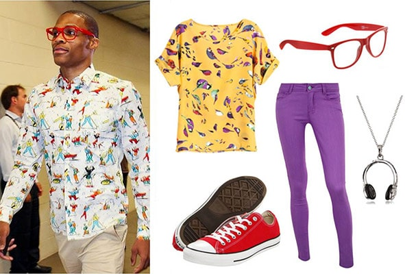 Fashion inspired by Russell Westbrook's style
