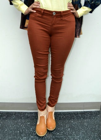 Rust colored pants