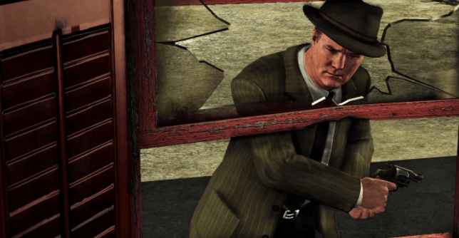 Rusty Galloway from LA Noire video game