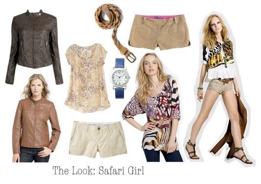 Safari inspired fashion