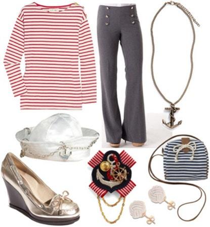 Halloween costume idea: Sailor