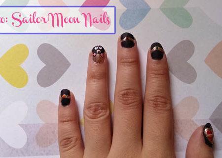 Sailor moon nails header