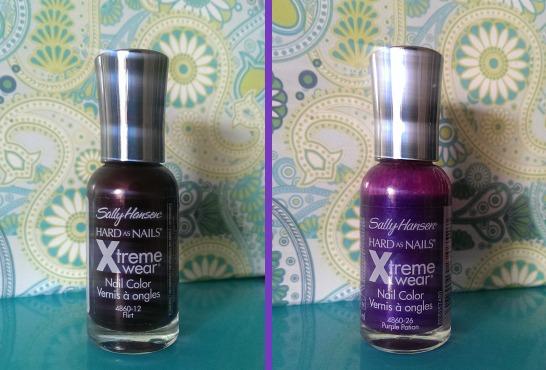 Sally hansen flirt and purple potion