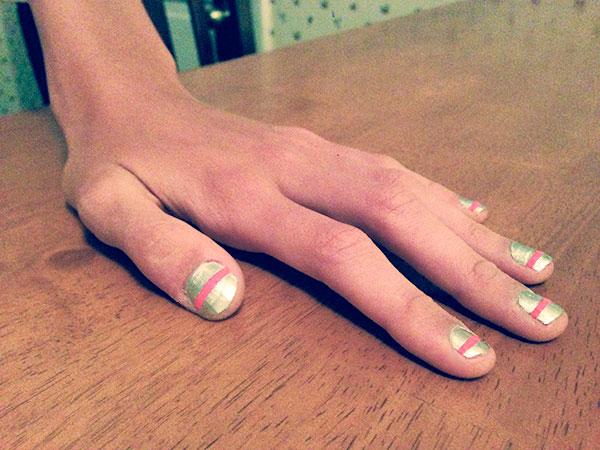 Sally hansen metallic nails final