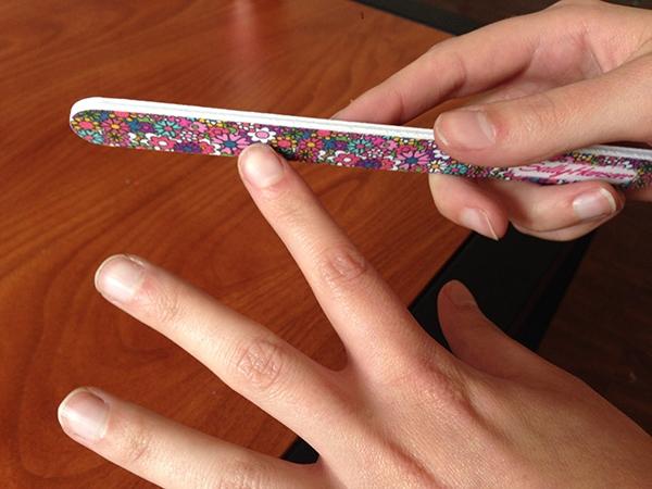 Sally hansen nail file