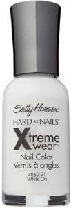Sally hansen xtreme wear white on