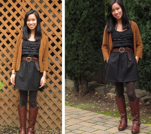 Caitlin, a college fashionista from San Francisco