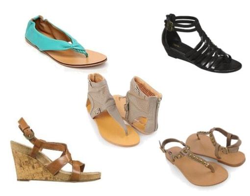 Sandals Under 25 Dollars