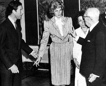 Princess Diana, Italy 1985