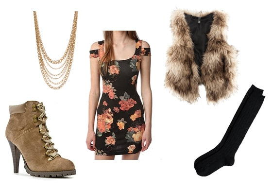 Santana Lopez Inspired Outfit