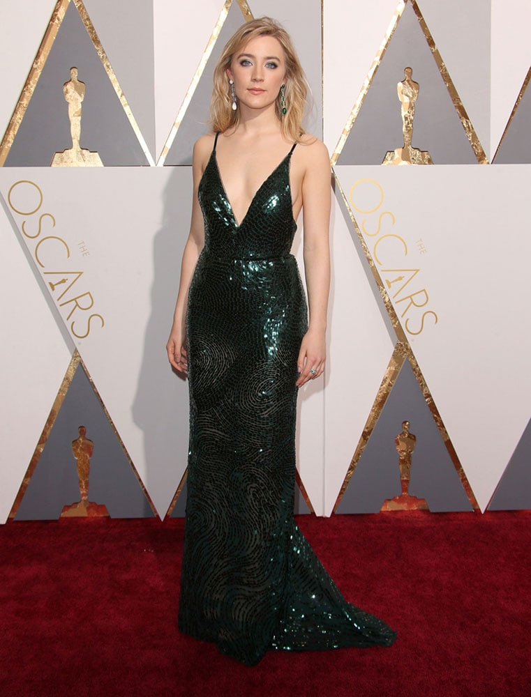 Saoirse Ronan at the 2016 Oscars