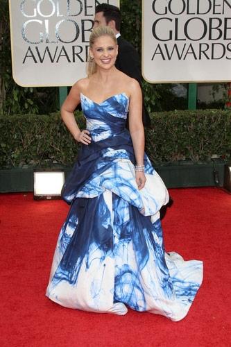 Sarah Michelle Gellar in Monique Lhuillier at the 2012 Golden Globe Awards