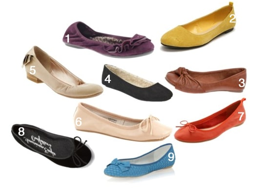 Inexpensive and cute flats