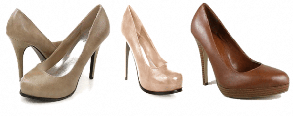 Inexpensive Nude Pumps