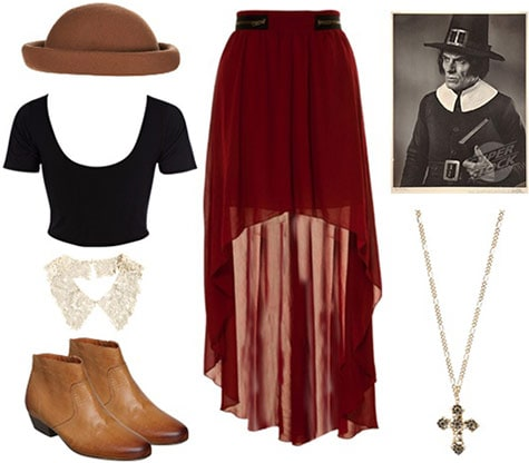 Outfit inspired by The Scarlet Letter