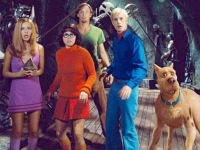 The cast of the Scooby Doo movie
