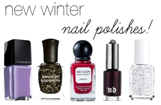 5 Need-To-Have Winter Nail Polishes
