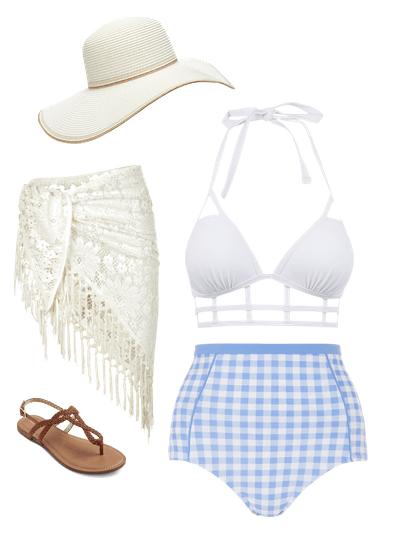 resort-worthy swimwear