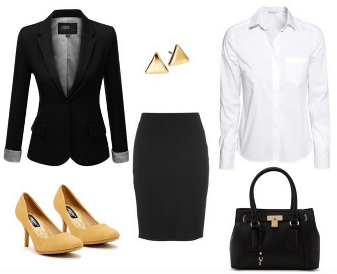 Business Professional Outfit For Internship