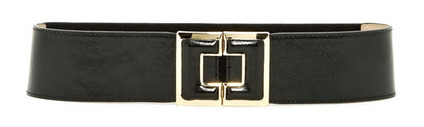 a black and gold belt