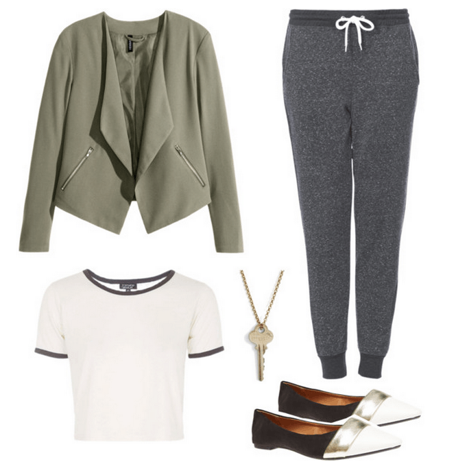 how to dress your sweats inspiration