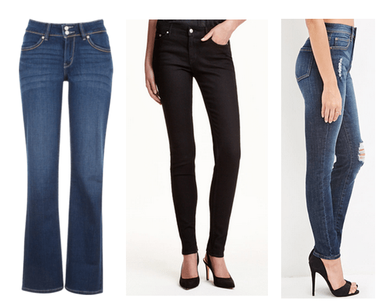 Variety of pant styles