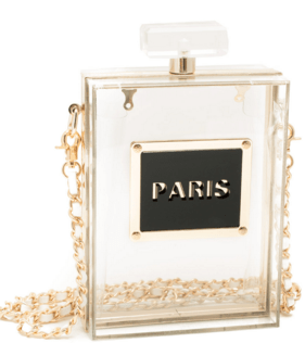 paris is 4 love perfume clutch