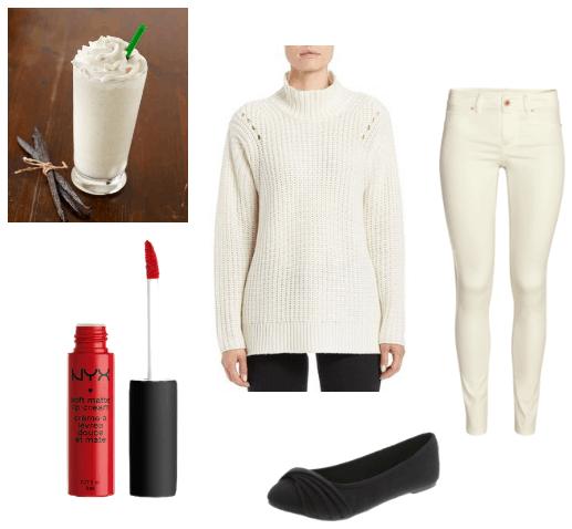 Starbucks Vanilla Bean Look