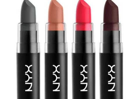 NYX Matte Lipstick colors