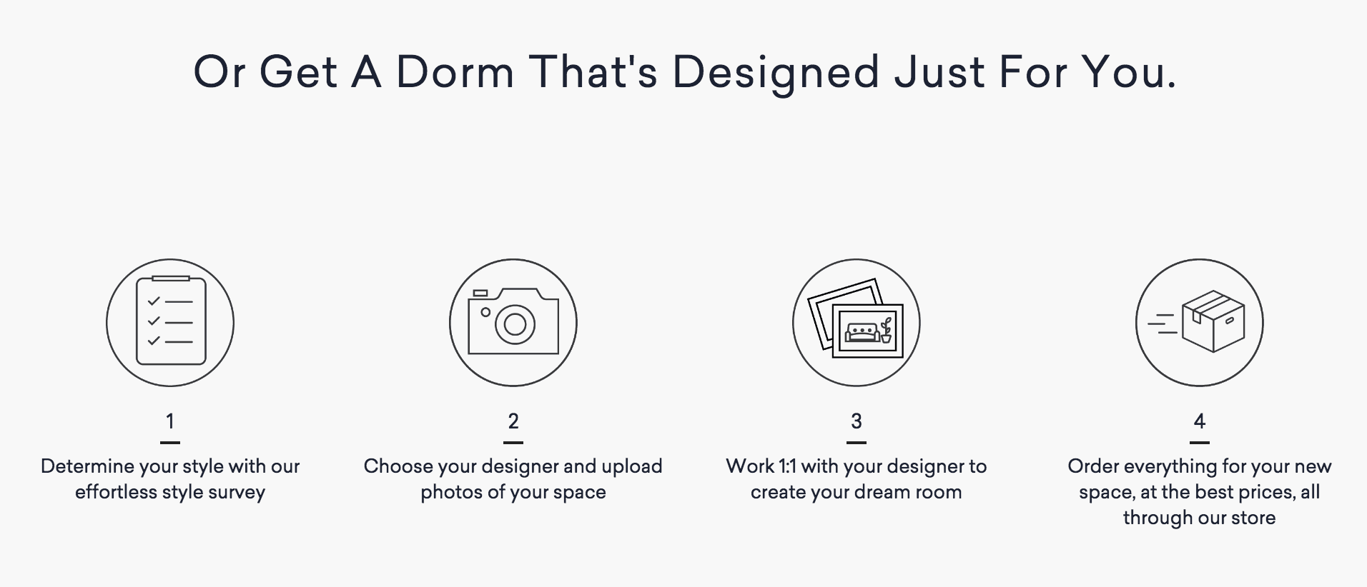 Havenly design service screenshot