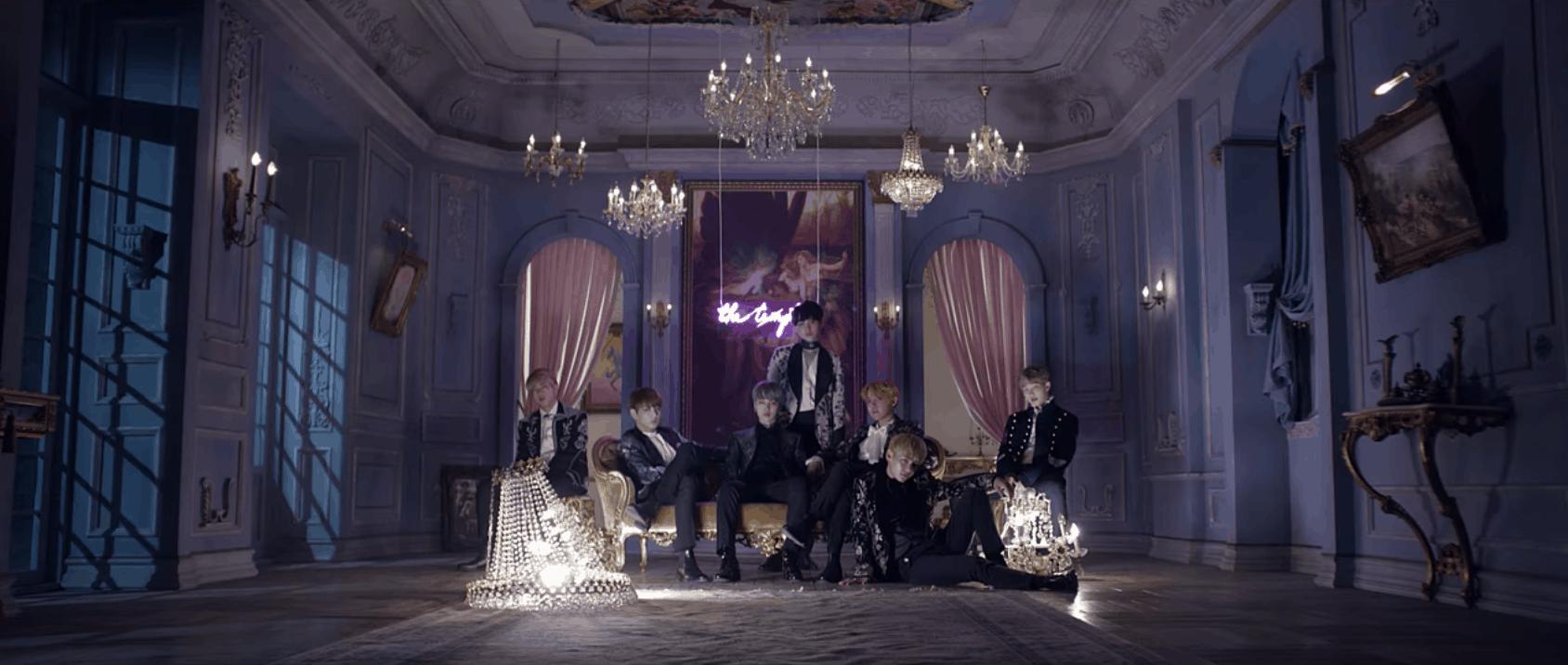 "BTS ""Blood Sweat & Tears"" MV screenshot"