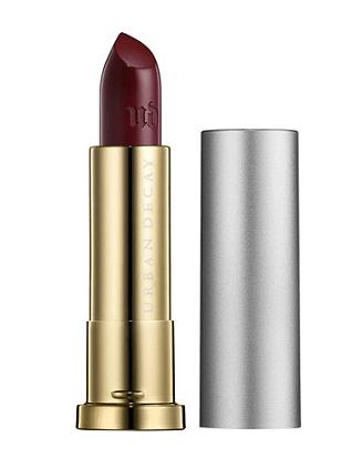 Tube of dark lipstick