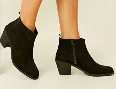 Forever 21 black Chelsea boots
